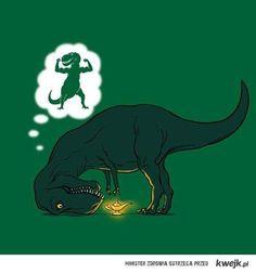 poor poor t-rex