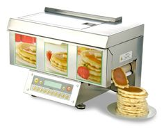 automatic pancake machine... Had one of these in the Holiday Inn Express in GA. it was awesome.