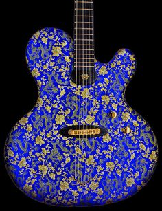 """Jens Ritter Princess Isabella """"The Blue Dragon"""" - Limited Edition of 25 Guitars"""