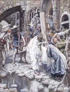 A Holy Woman Wipes the Face of Jesus // // 1886-1896 // James Tissot // Brooklyn…
