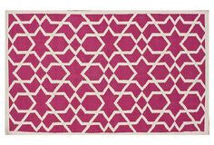 Tayden Flat-Weave Rug, Magenta on OneKingsLane.com for babes room 8x10 $559
