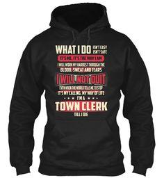 Town Clerk - What I Do #TownClerk