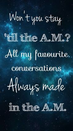 A.M. - One Direction