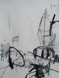jason craighead - saturday morning 1 x & mixed media on paper Abstract Drawings, Abstract Art, Abstract Paintings, Painting Collage, Painting & Drawing, White Art, Black And White, Collages, Call Art