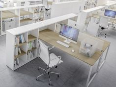 New workspaces by Fantoni presented at Orgatec – Office Design 2020 Open Space Office, Bureau Open Space, Office Space Design, Modern Office Design, Workspace Design, Office Workspace, Office Interior Design, Office Interiors, Office Cubicles
