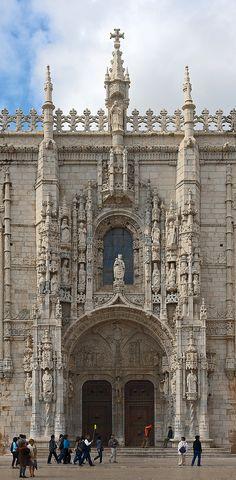 https://flic.kr/p/cdfMR9 | Portal | Mosteiro dos Jerónimos, Lisbon