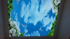 Gergi tavan Kadıköy, barisol tavan Kadıköy gökyüzü resimli tavan uygulaması