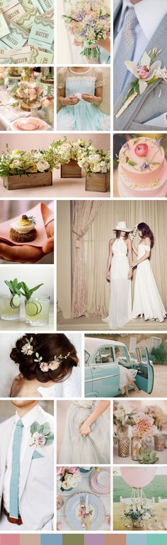 The Quintessential Spring Wedding Moodboard