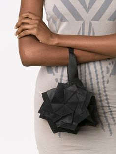 Issey Miyake small origami clutch
