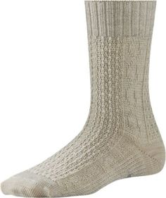 Smartwool Women's Wrapped Cable Socks Natural S