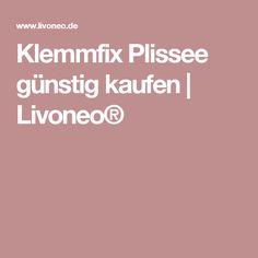 Klemmfix Plissee günstig kaufen | Livoneo®