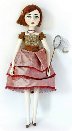 "Du Buh Du Dolls - Christine Alvarado Art Doll""Sukie"""