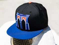 Brooklyn Cyclones Arch 59Fifty Fitted Cap by NEW ERA x MiLB