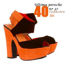 Orange Is The New, Shoes Sandals, Heels, Shoe Dazzle, Heeled Mules, Peep Toe, Shopping, Boots, Stuff To Buy