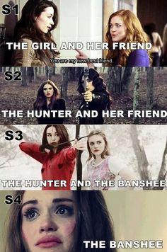 Lydia & Allison... so sad - Teen Wolf:
