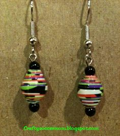 Duct Tape Earrings