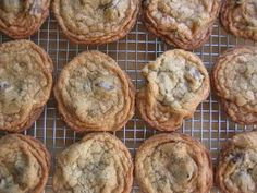I hear these are the best chocolate chip cookies in the whole world! Hmm, taste test is in order! :)