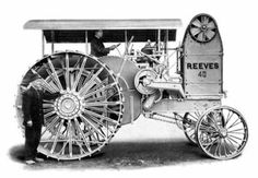 The Reeves Model 40 was made in 1913.