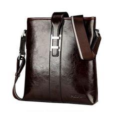 Enrico - Genuine Oil Wax #Leather  #Business #CrossbodyBags #Men #LaMiaCara