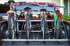 Picture of Truck Bed Bike Rack