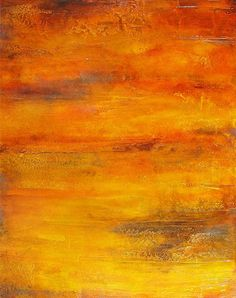 Textured Abstract Paintings by Charlen Williamson | The Golden Dawn