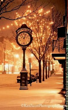 Christmas in Traverse, Michigan, U.S. Never knew it was so pretty in TC during winter