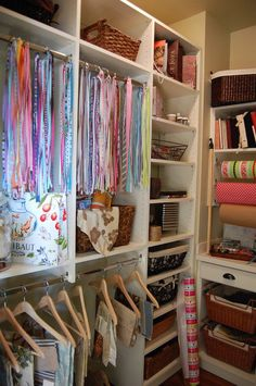 eclectic closet by Between Naps on the Porch