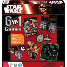 Ravensburger Star Wars 6-in-1 Game