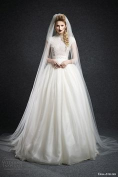Ersa Atelier Wedding Dress Fall 2015 Bridal Collection