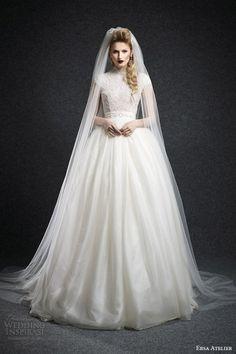 Ersa Atelier Wedding Dress Fall 2015 Bridal Collection