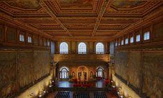 Palazzo Vecchio: il museo, il salone de' 500, e i percorsi del Museo dei Ragazzi.