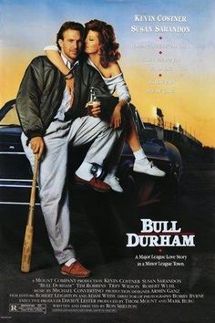 BASEBALL CLASSIC bull durham MOVIE POSTER susan sarandon kevin costner 24X36