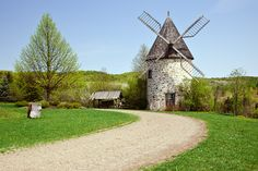 "500px / Photo ""Windmill at St Paulin"" by helene stelliou liboiron"