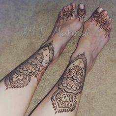 Art by Kristina Loeffler of Wishcraft Designs - Bridal henna for feet Henna Body Art, Hand Henna, Shin Tattoo, Henna Artist, Bridal Henna, Henna Patterns, Skin Art, Portfolio Design, Mehndi