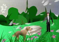 Sarg.Hund.Lilien.Federn. Dinosaur Stuffed Animal, Toys, Animals, Casket, Feathers, Lilies, Dog, Activity Toys, Animales