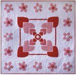 Forever In My Heart Quilt Pattern with fusible applique by Pink Hippo Quilts