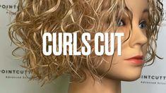 Big Curly Hair, Curly Hair Tips, Curly Bob, Curly Hair Styles, Hair Cutting Videos, Hair Cutting Techniques, Hair Videos, Modern Shag Haircut, Short Curly Haircuts