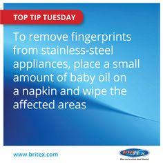 Get rid of those pesky fingerprints!