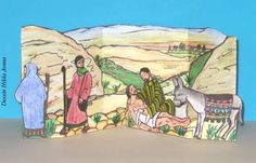 knutselwerkje De barmhartige Samaritaan Bible craft the Good Samaritan