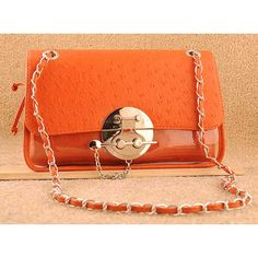 Fumiye - Womens fashion orange #clutches evening bags $74.00
