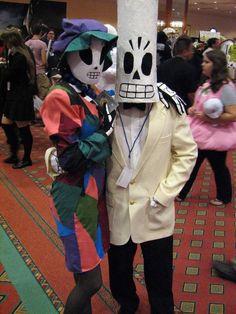 Manny Calavera & Meche from Grim Fandango costumes