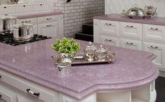 #purple #kitchen #countertop v~ @Amy Lyons Lyons Buell not a purple kitchen just purple countertops =)