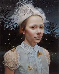 Andrea Kowch ~ Nocturne, 30x24, acrylic