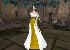 *GLITTER* MEDIEVAL PRINCESS GOWN  Only at POE8 Event The hunt will run from December 1st till January 9th, 2016