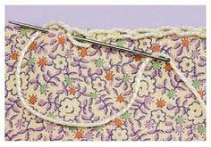 Start a crocheted edge!