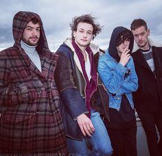 slendergraspongrammar: The 1975 in Seattle 12.20.15 Photo: mat Hayward Matty has the least natural insulation to keep him warm and is wearing the thinnest coat @jam pls call me to discuss