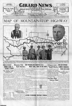 Front page of the Girard News, Saturday December 27, 1924.  Girard was later renamed Woodland Hills. The paper served  the communities of San Fernando, Van Nuys, Lankershim, Reseda, Owensmouth, Chatsworth, Rio Vista, Villa Vista, Pacoima, Zelzah, Weeks Colony, and other areas. West Valley Museum. San Fernando Valley History Digital Library.