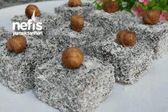 Çikolatalı Enfes Lokum (Çok Pratik ) Tarifi Turkish Delight, Granola, Yogurt, Helpful Hints, Muffin, Party, Desserts, Food, Cupcake