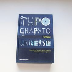 Look what flew into our post chest this weekend. A very nice book from Steven Heller and Gail Anderson called Typographic Universe. Published by Thames and Hudson we expected of course something great. About the book: The book showed us that quite everything could be typography. Type can be found everywhere and with a little …