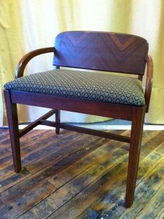 Re-upholstered at European Needle.